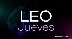 Horóscopo Leo Jueves