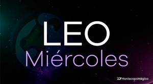 Horóscopo Leo Miércoles