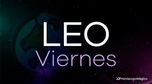 Horóscopo Leo Viernes