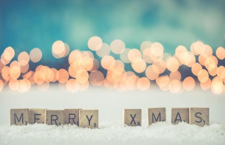 Feliz Navidad en inglés