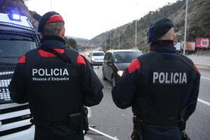 Un agent dels Mossos va ser detingut.