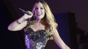 La cantant va utilitzar el seu concert a Torrejón de Ardoz per fer comentaris.