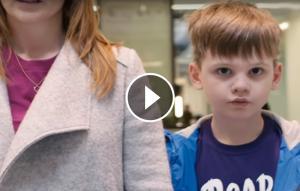Nen amb trastorn de l'espectre de l'autisme.