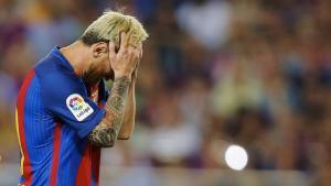 Messi ha patit una baixada de pressió