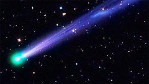 Fotografia del cometa