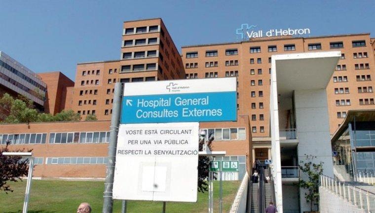 La dona està ingressada a l'Hospital Vall d'Hebron