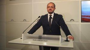 Alejandro Fernández, portaveu del PP al Parlament