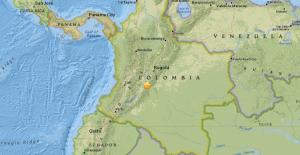 Epicentre del terratrèmol de Colòmbia
