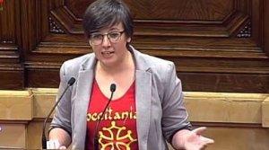 La diputada Mireia Boya és una gran defensora de l'aranès