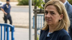 La infanta Cristina ha estat absolta en la sentència del cas Nóos