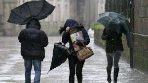 La pluja podria caure durant molts moments del cap de setmana