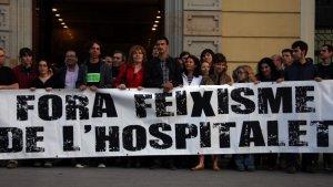 Veïns del barri de Sanfeliu de l'Hospitalet demanen l'expulsió del mossèn que va acollir la missa d'homenatge a la División Azul