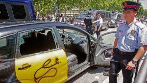 Creix el malestar entre els taxistes de Barcelona.
