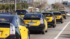 Creix el malestar entre els taxistes de Barcelona