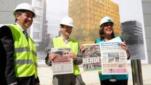 «Estem en converses amb promotors i cadenes hoteleres per tancar altres projectes hotelers a la ciutat», ha assegurat l'alcaldessa de l'Hospitalet, Núria Marín.