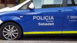 Imatge d'un cotxe de la Policia Municipal de Sabadell