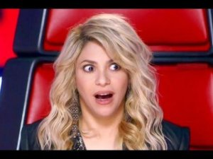 La cantante de 'Boig per tu', Shakira