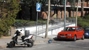 L'Hospitalet millora l'accessibilitat dels vianants en diferents zones de la ciutat.