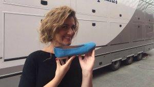 Carlota Corredera tampoc ha pogut resistir-se a les sabates Nana Ubach.