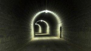 Imatge d'un dels túnels de la via