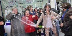 Celebració loteria