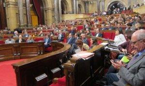 El Parlament de Catalunya.