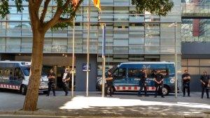 Els Mossos d'Esquadra han detingut més persones de l'organització Arran per protestar