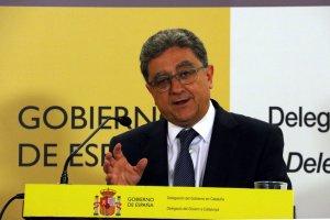 El delegat del govern espanyol a Catalunya, Enric Millo, en una imatge d'arxiu.