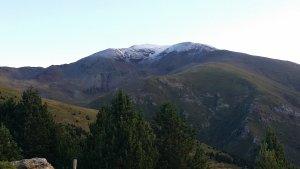 El Puigmal, nevat