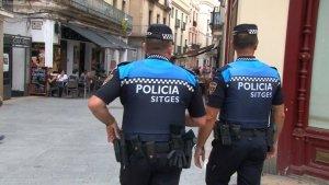 Agents de la policia de Sitges