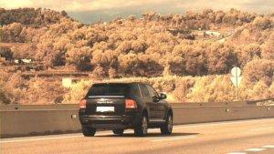 Imatge que han difós els Mossos d'Esquadra del conductor que circulava a 196 km/hora per la C-16
