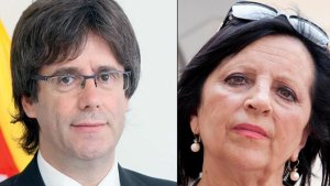 Pilar Abel no dubta en comparar-se amb Carles Puigdemont.