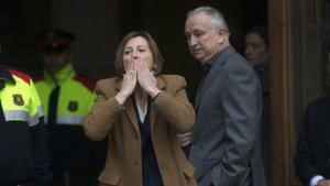Bernat Pegueroles és el marit de la presidenta del Parlament, Carme Forcadell