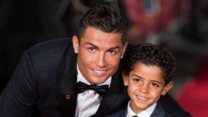Cristiano Ronaldo i el seu fill Cristiano Jr.