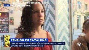 Entrevista de tres estudiants de la UAB a 'Espejo Público'
