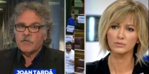 Joan Tardà s'enfada amb Susanna Griso