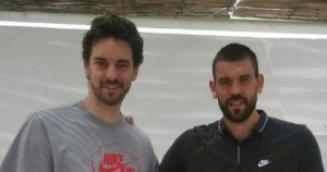 Pau Gasol y Marc Gasol