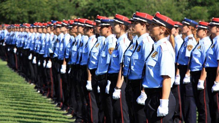 El cos de seguretat dels Mossos d'Esquadra