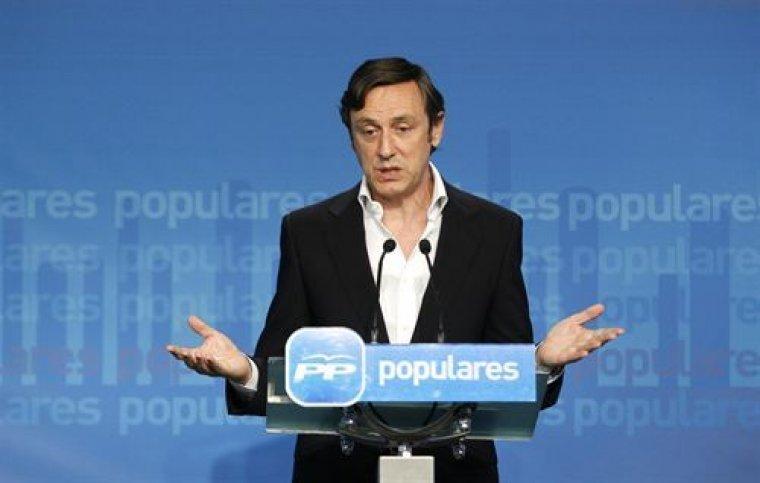 Imatge d'arxiu del portaveu del PP, Rafael Hernando.