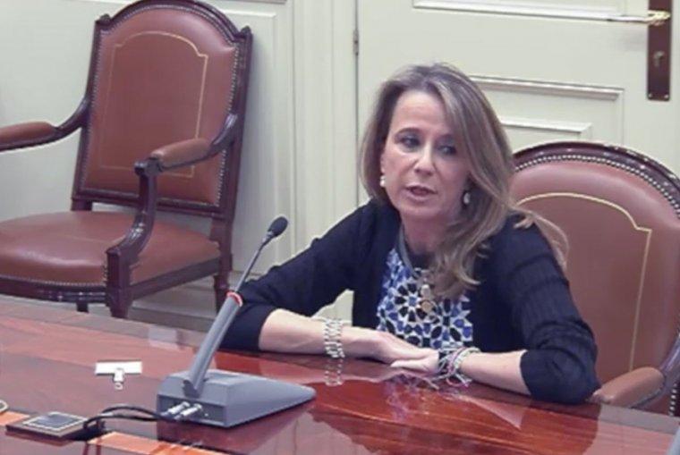 Imagen de la jueza Carmen Lamela