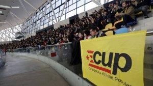 Imatge d'una assamblea de la CUP