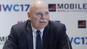 El delegat del GSMA, John Hoffman