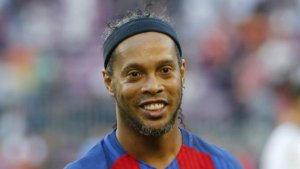 Imatge de Ronaldinho durant la seva època al Barça.