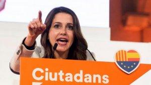 Inés Arrimadas, líder de Ciutadans a Catalunya