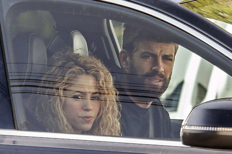 Imagen de Shakira y Gerard Piqué.