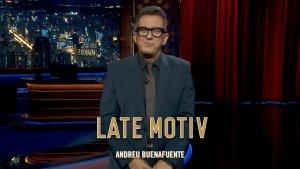 Andreu Buenafuente al programa 'Late Motiv'