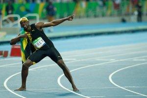 Usain Bolt en una imatge d'arxiu a Rio 2016.