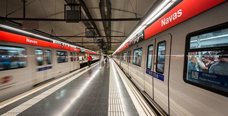 El metro de Barcelona, en una imatge d'arxiu