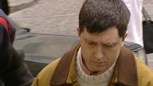 Jordi Magentí durant el judici que el va condemnar per la mort de la seva dona