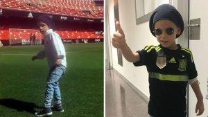 El fill de Santiago Cañizares ha mort als 5 anys